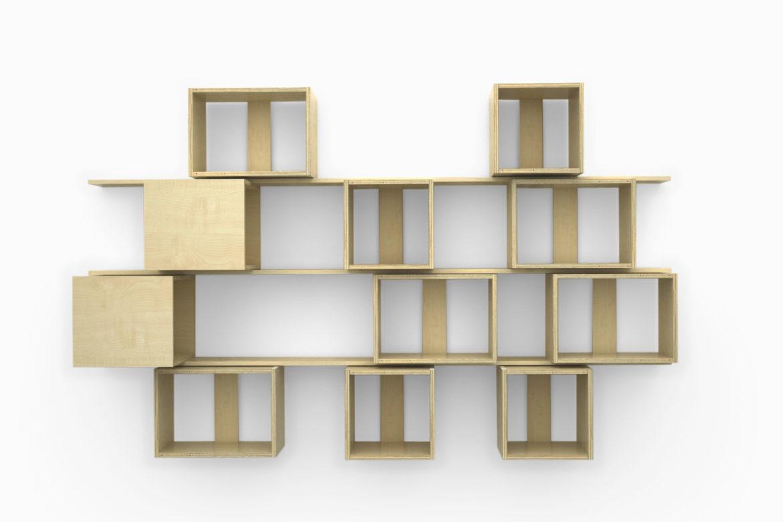 Estanterias modulares madera como veras es un mueble que adems aporta una cuota de diseo pueden - Estanterias modulares de madera ...