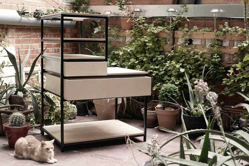 Carpinteria expandida - Mueble multimedia ...
