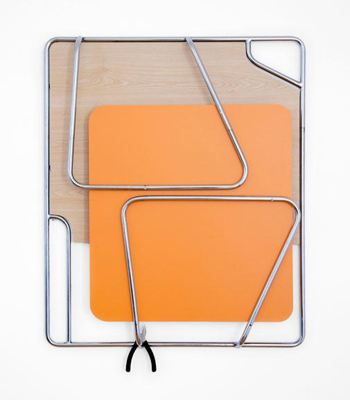 Chrome-orange-pliers _ Hisae Ikenaga