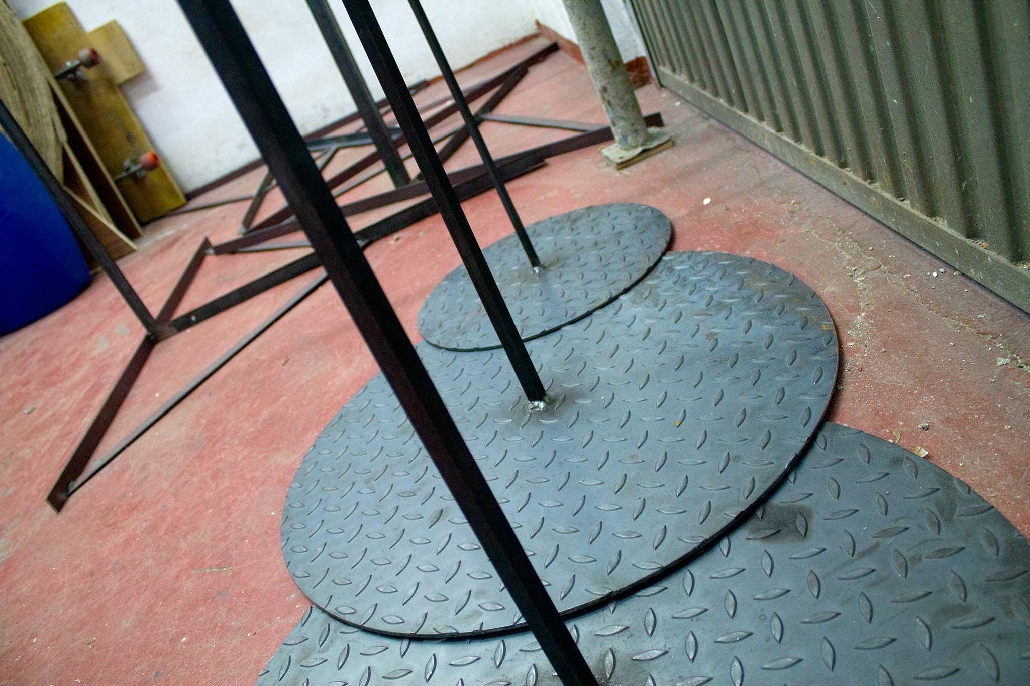 fabricación de soportes