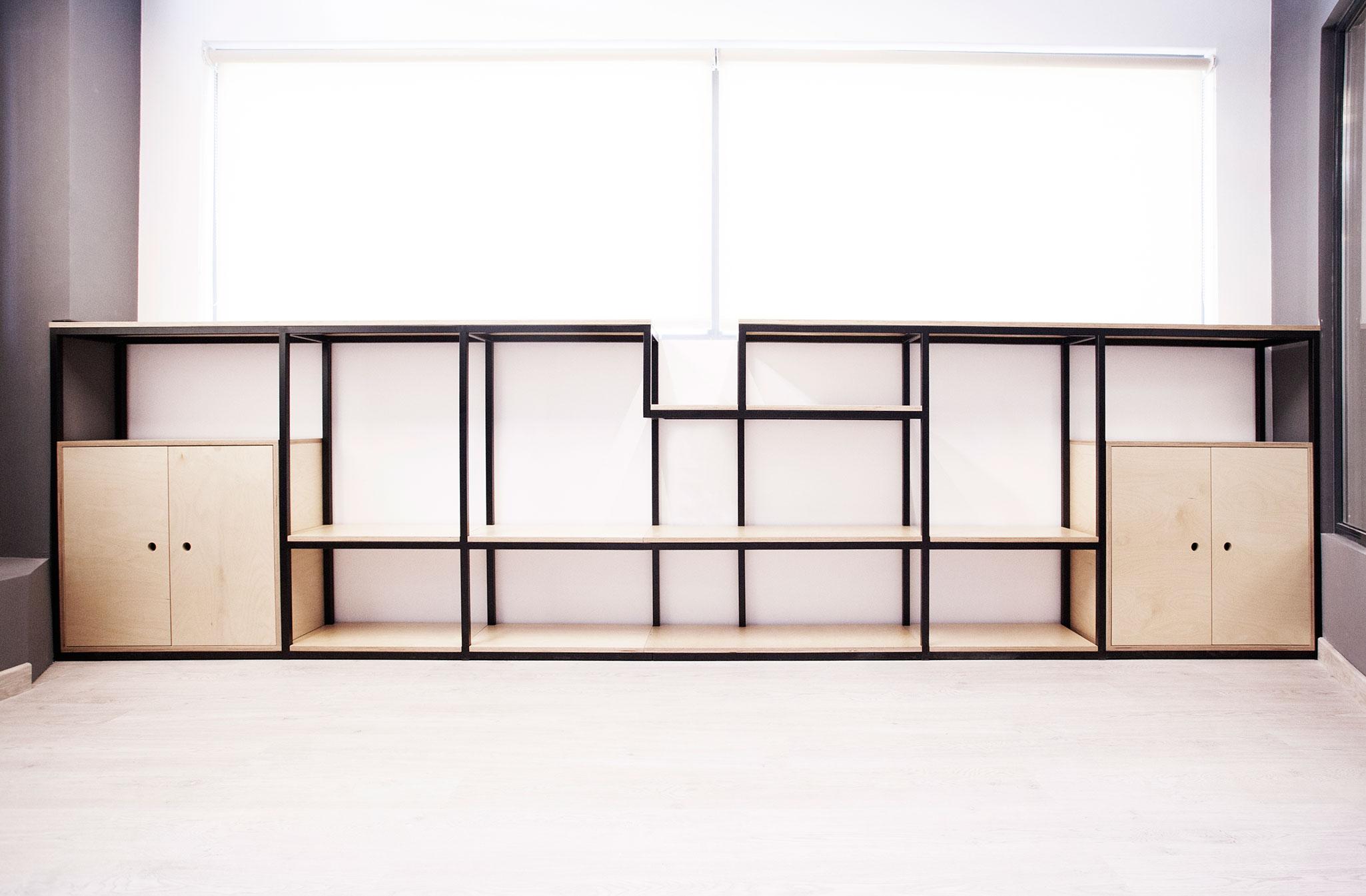 estantería box 2