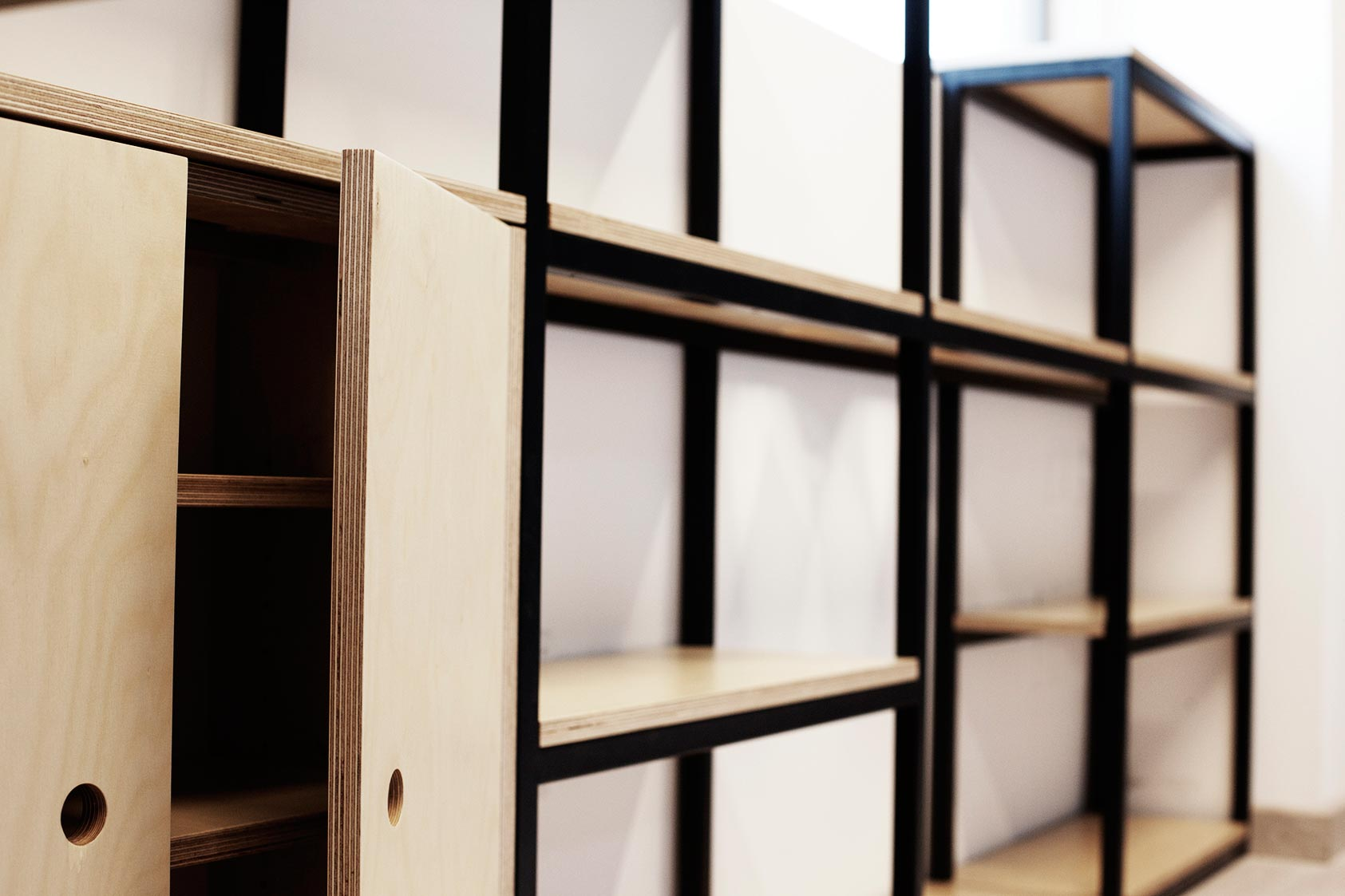 estantería box 1